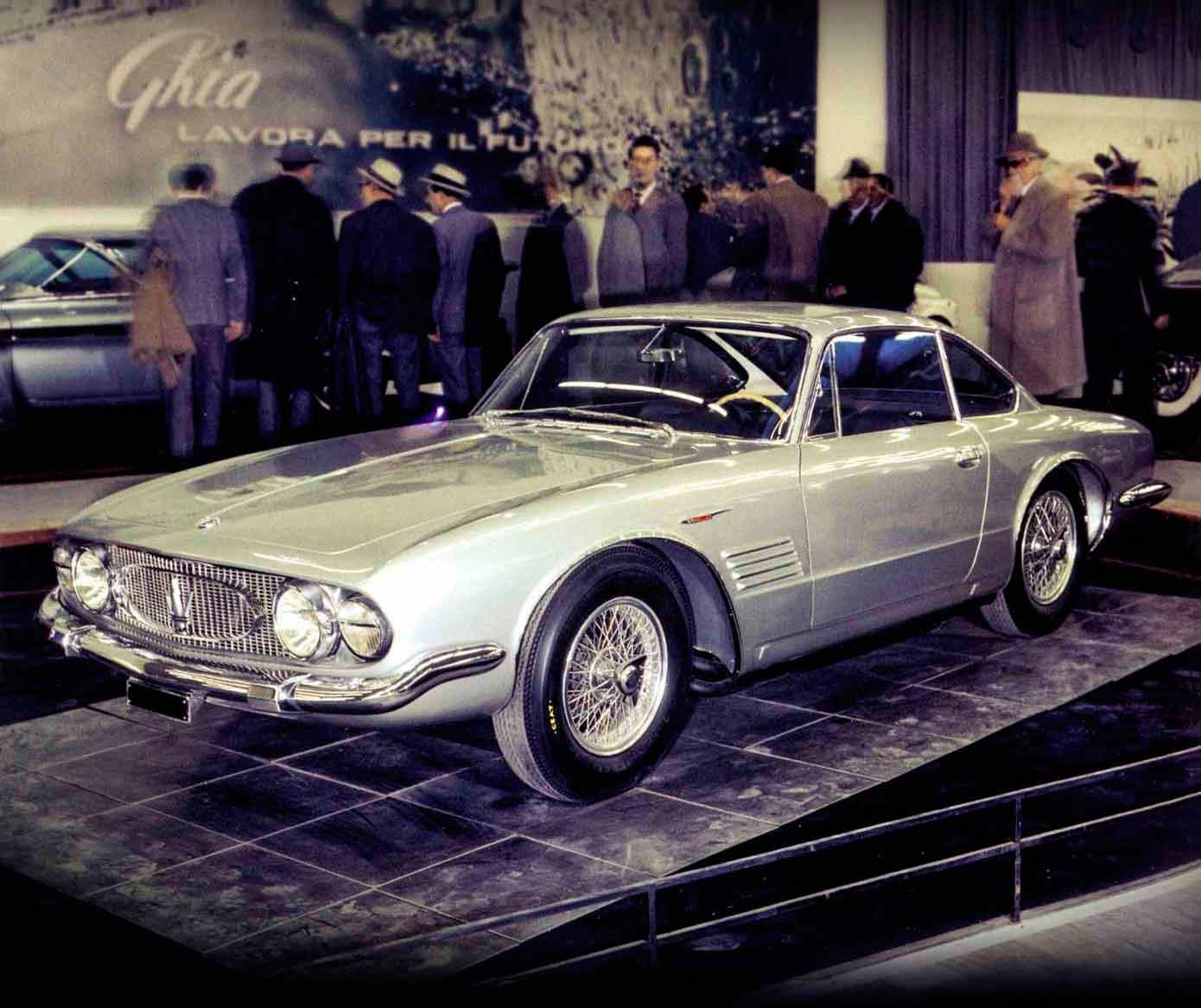 Maserati long-lost Ghia-bodied 5000GT