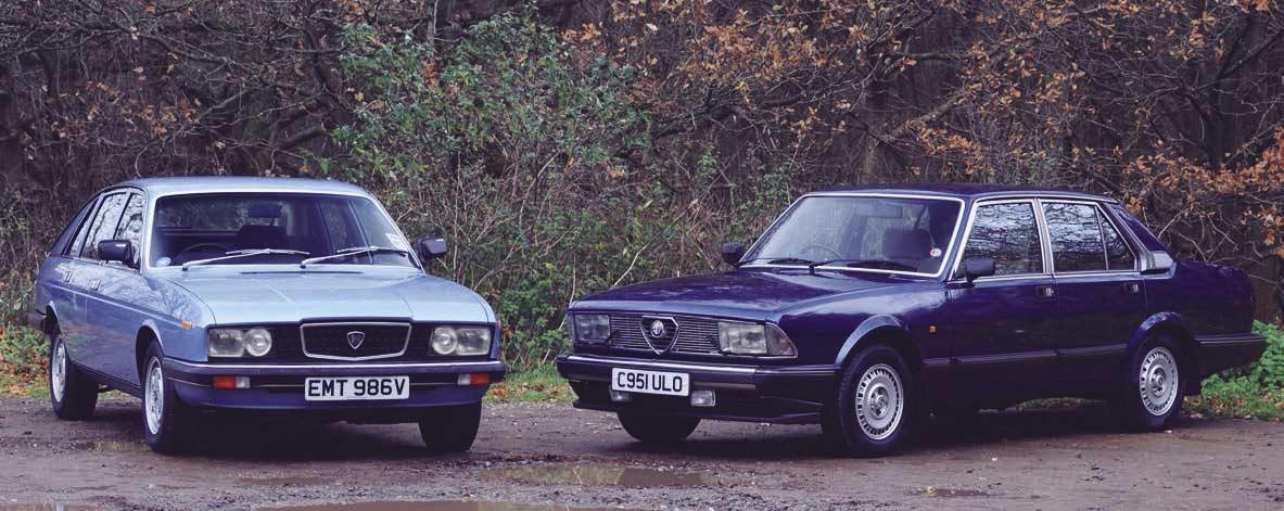 Alfa Romeo Alfa 6 Automatic Second Series vs. Lancia Gamma 2500