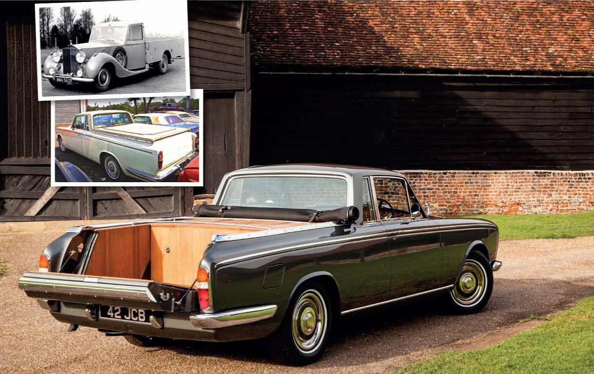 Rolls-Royce Silver Shadow Pick-up fit for a knight of the realm