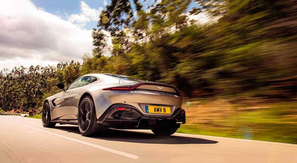 2019 Aston Martin V8 Vantage Amv8 Drive