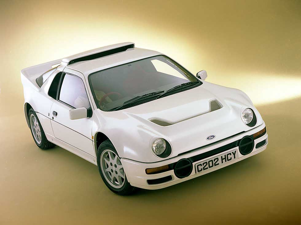Ford RS200 UK-spec 1984-1986