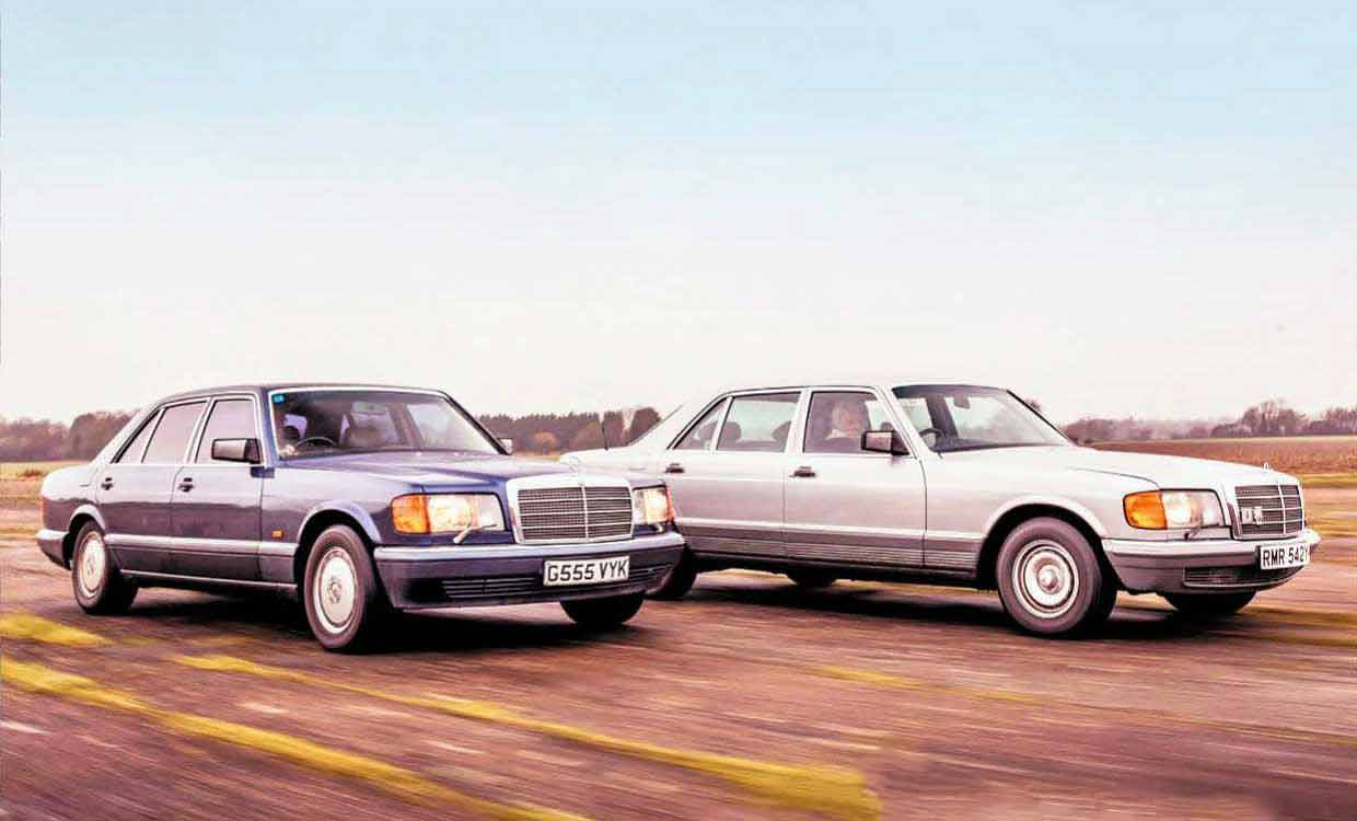 Mercedes-Benz 500SEL and 560SEL 126-Series S-Class road test