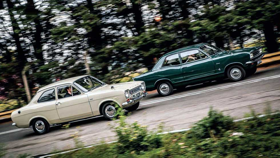 Ford Escort 1100 De Luxe Mk1 vs. Vauxal Viva HB SL