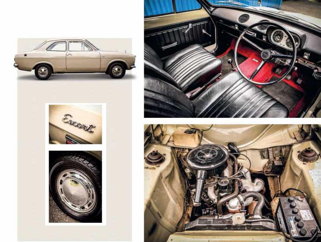 Ford Escort 1100 De Luxe Mk1