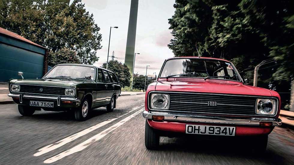 Ford Escort 1300 GL Estate Mk2 vs Hillman Avenger Super Estate