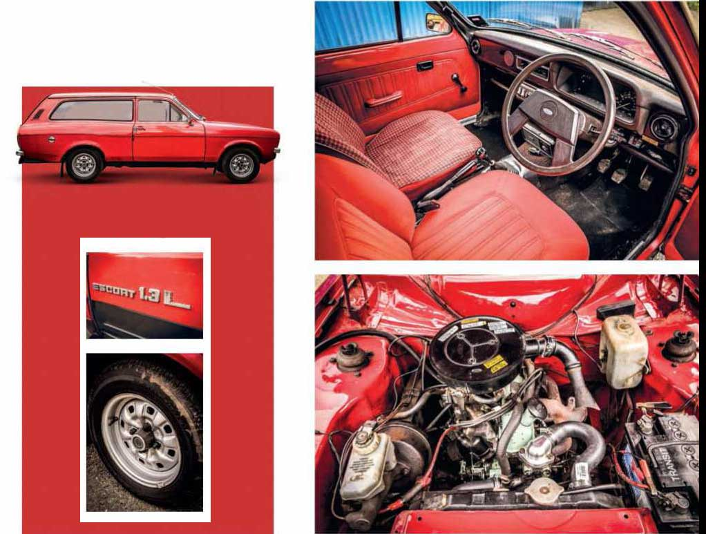 Ford Escort 1300 GL Estate Mk2