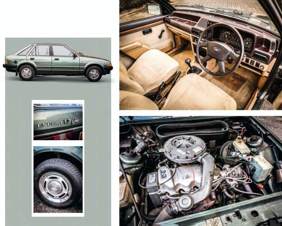 Ford Escort 1.3 Ghia Mk3