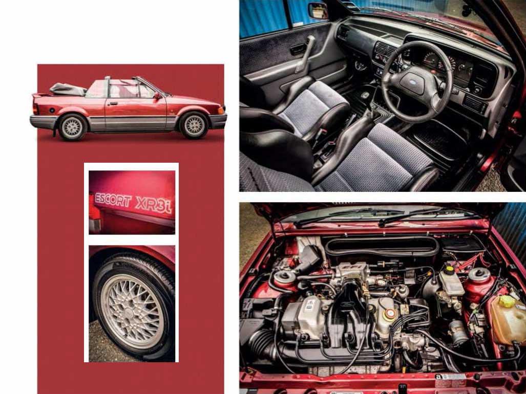 Ford Escort XR3i Cabriolet Mk4 road test