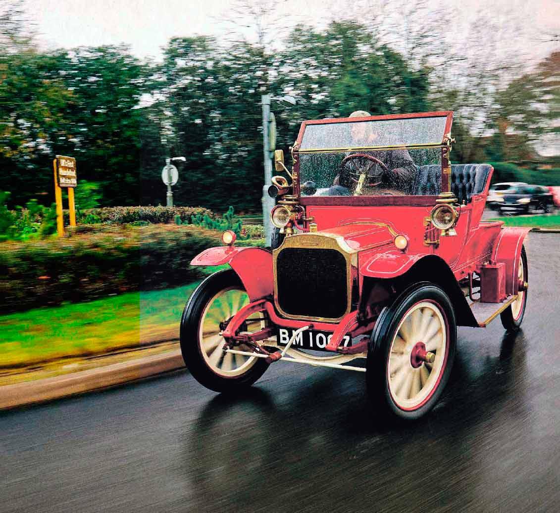 1909 Vauxhall B-type