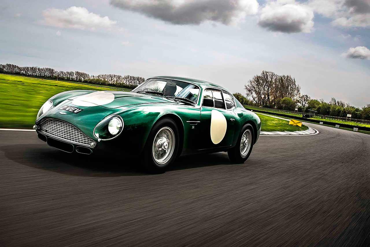 1961 Aston Martin DB4 GT Zagato MP209 2 VEV road and track test