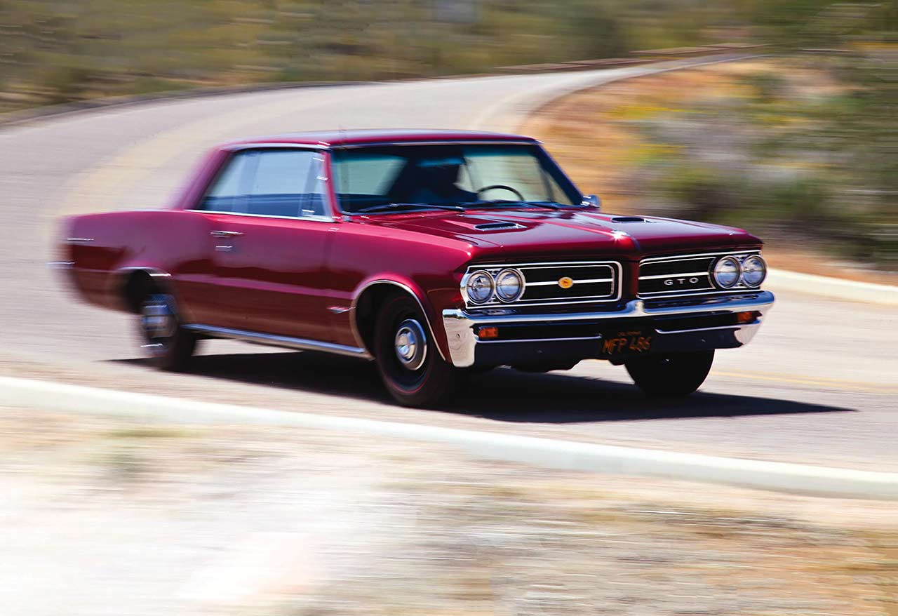 Winston Goodfellow 1964 Pontiac GTO road test