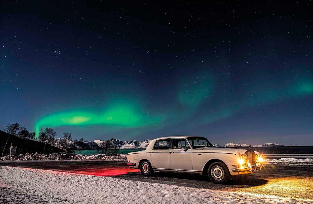 Harry Metcalfe / Epic Arctic trip in a bargain 1969 Rolls-Royce Silver Shadow