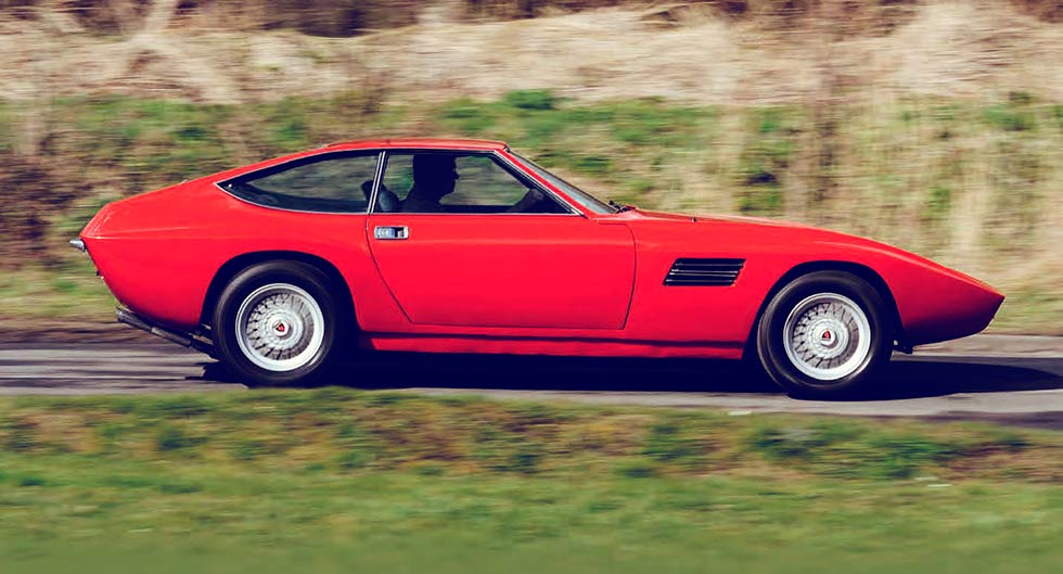 1971 Intermeccanica Indra - rare V8 supercar road test