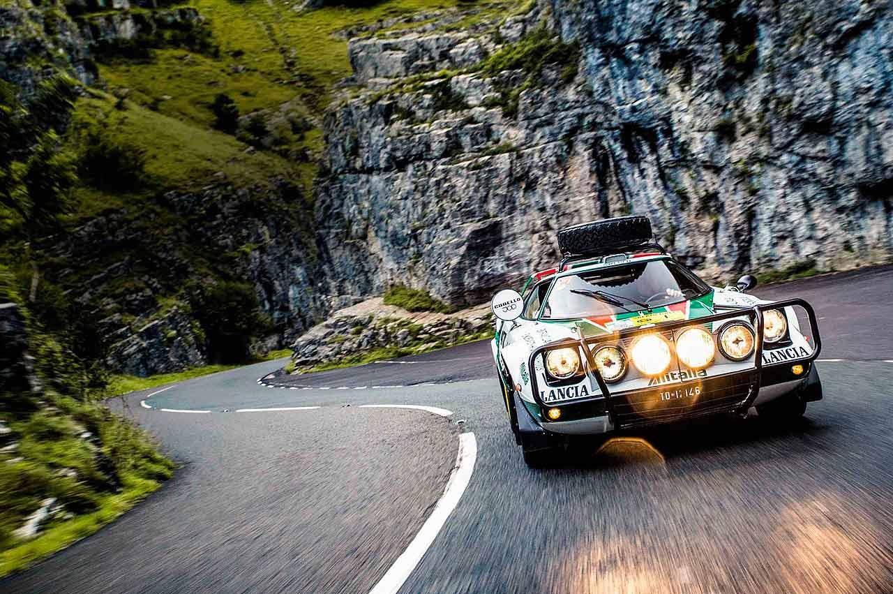1975 Works Lancia Stratos - testing Lancia's Safari Rally legend