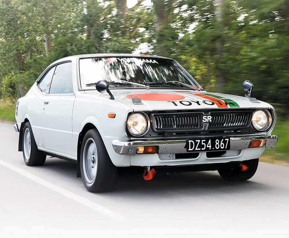 1976 Toyota Corolla SR1600 Levin Rally Car