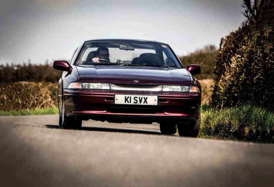 1991 Subaru SVX Coupe (Alcyone) road test