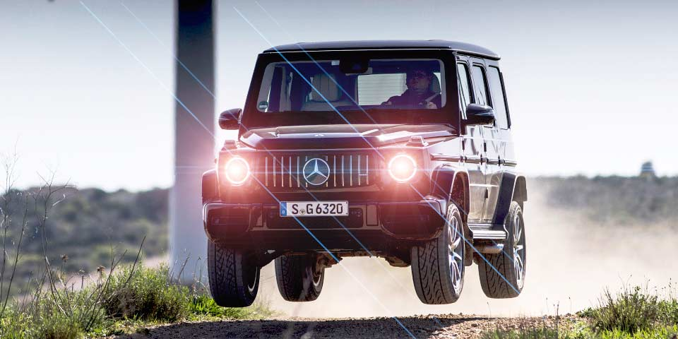 All-new G-class 2019 Mercedes-Benz G63 AMG W464
