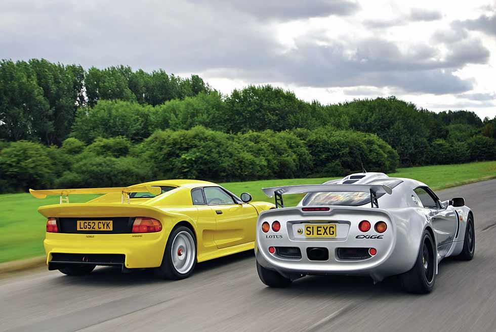 Lotus Exige vs. Noble M12 GTO