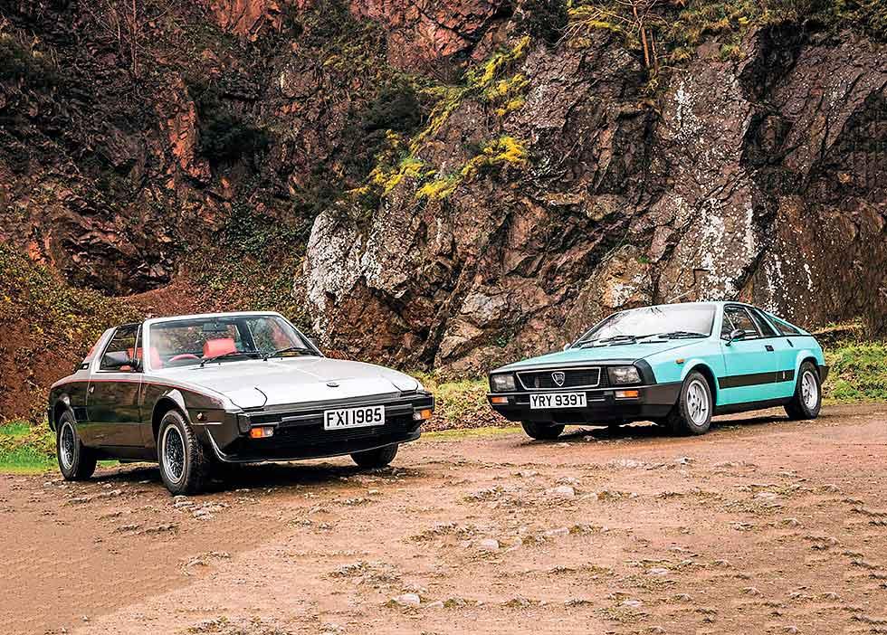 Fiat X1/9 Bertone 1500 vs. Lancia Beta Monte-Carlo