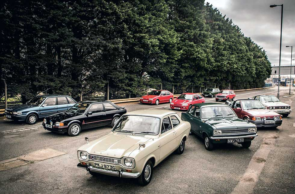 Escort agency: we pitch each era of the Ford against its main rival