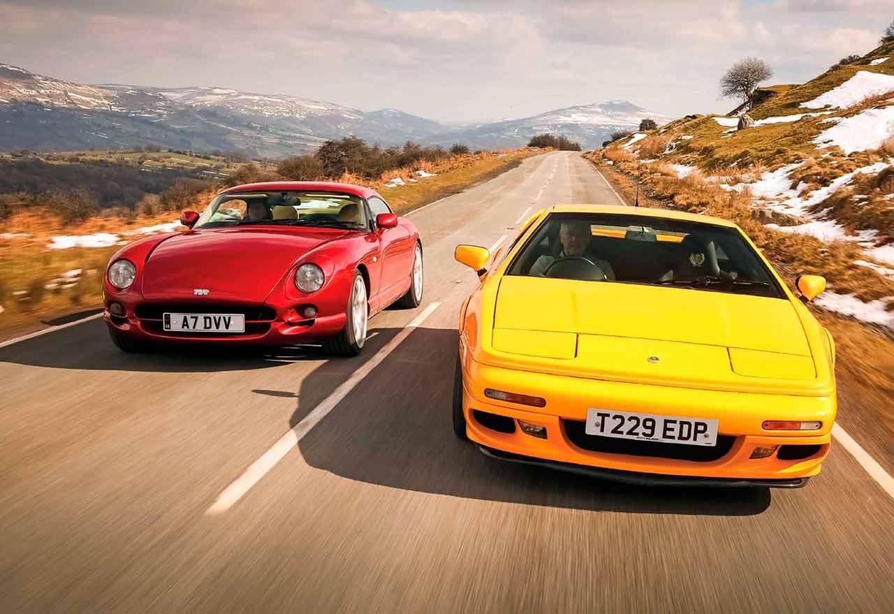 TVR Cerbera 4.2 vs. Lotus Esprit V8 GT