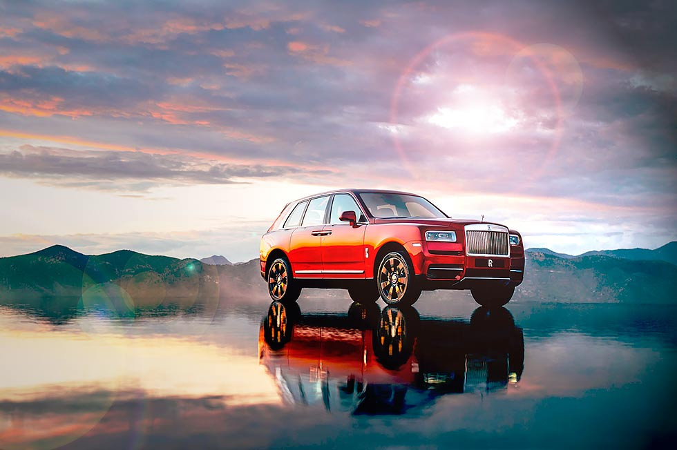 Rolls-Royce has launched the £250,000 Cullinan