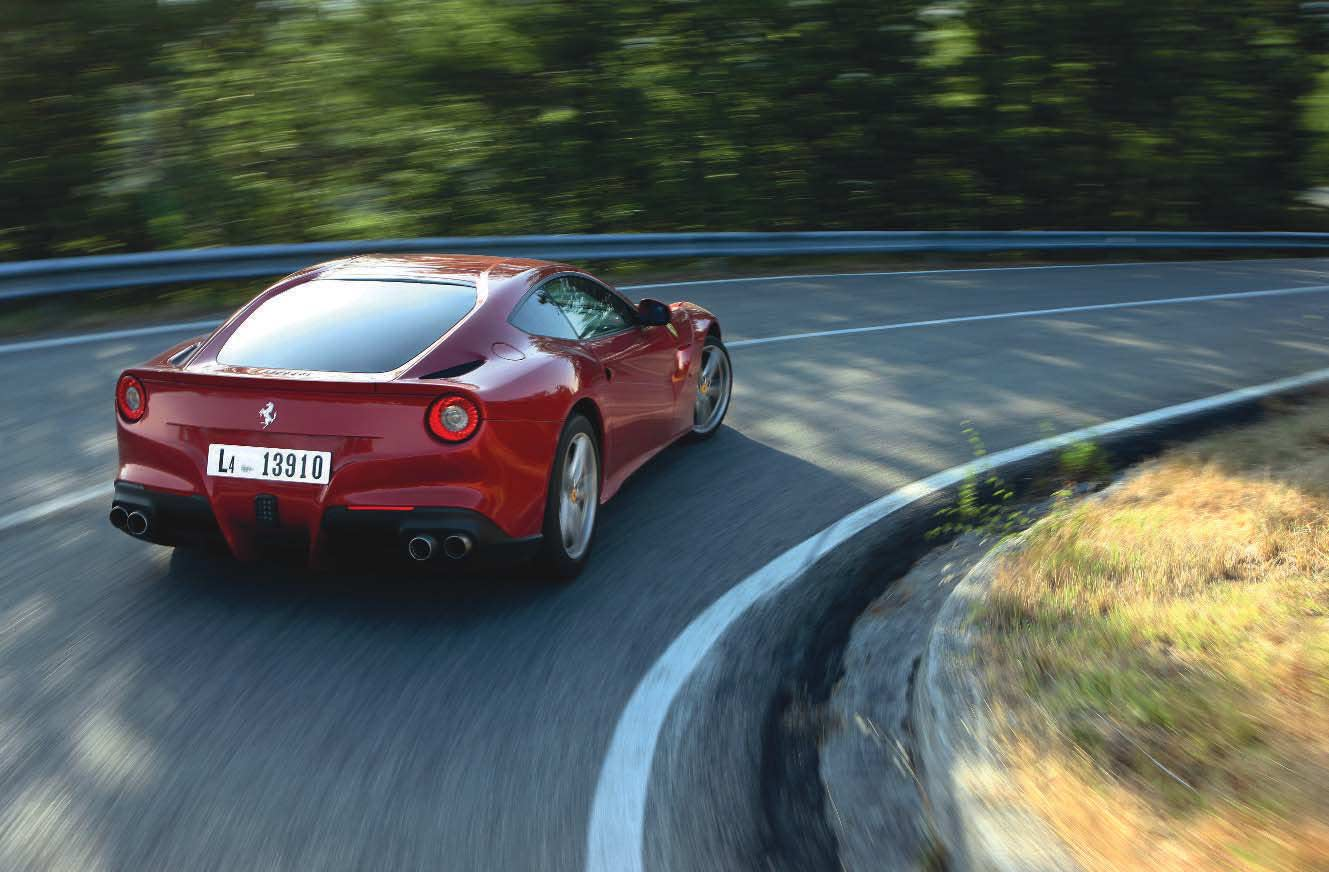 2013 Ferrari F12 road test