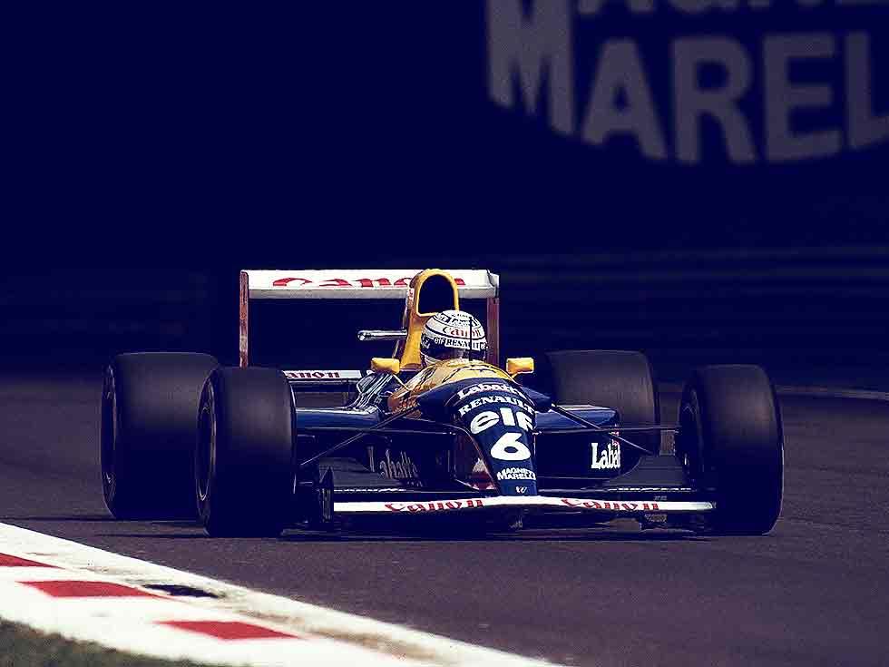 1992-Formula1 Williams FW14B V3