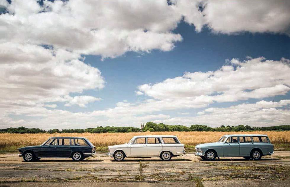 Fiat 2300 Familiare vs. Triumph 2000 Estate and Volvo 221