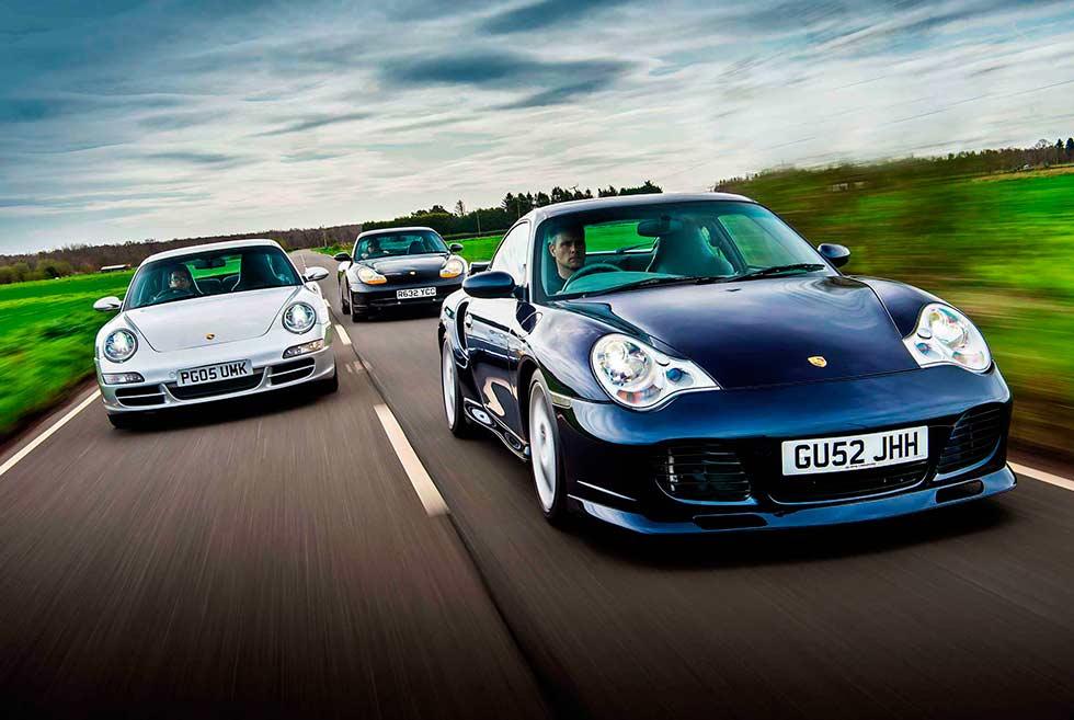 Porsche 911 Carrera 3.4 996, 911 Carrera S 3.8 997.1 and 911 Turbo 996