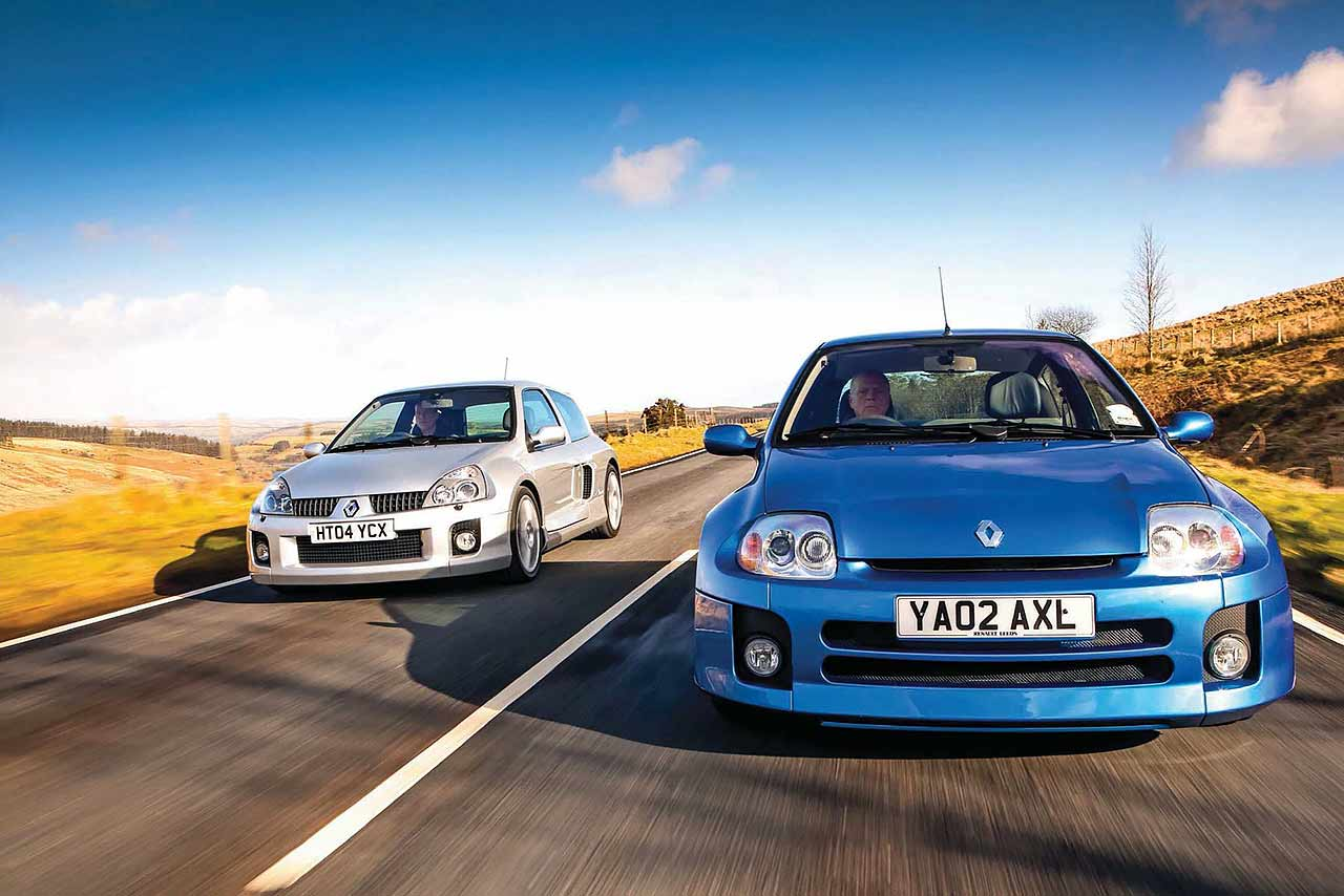 2001 Renault Sport Clio V6 and 2003 Renault Sport Clio V6 Phase 2 road test