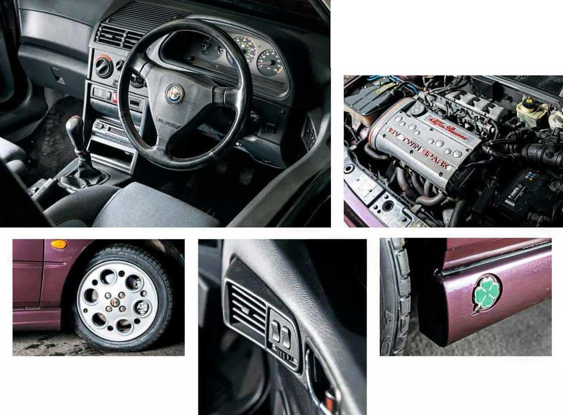 1998 Alfa Romeo 145 Cloverleaf