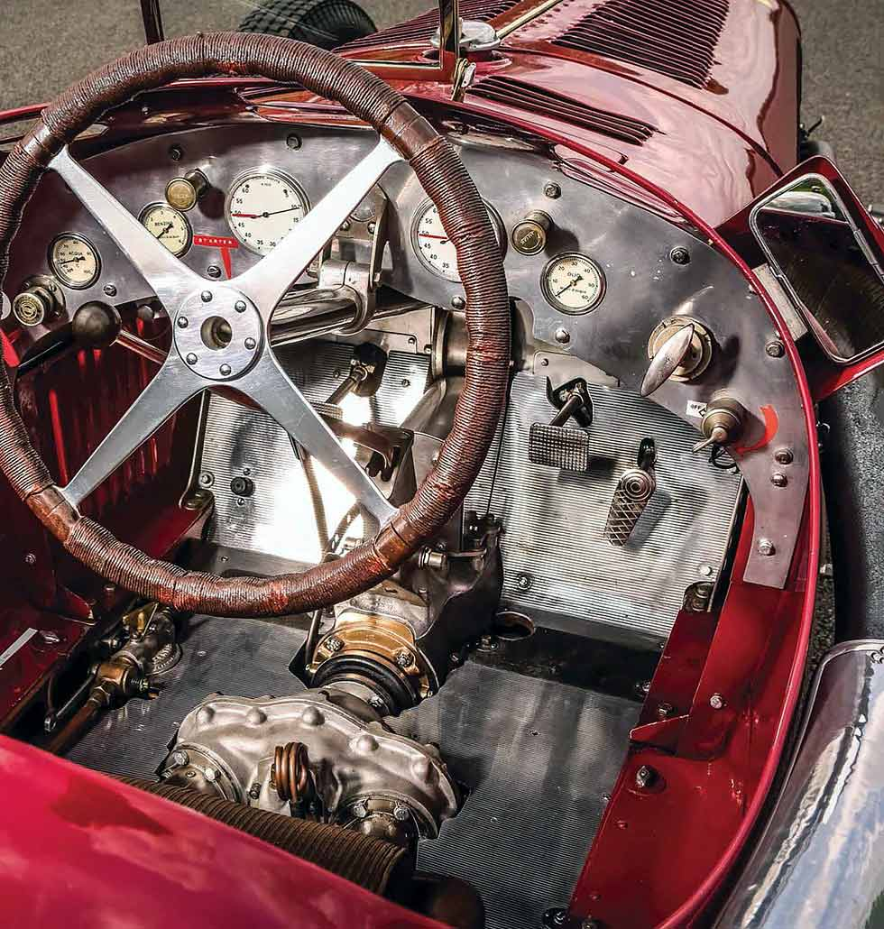 1932 Alfa-Romeo Tipo B / P3 Monoposto interior