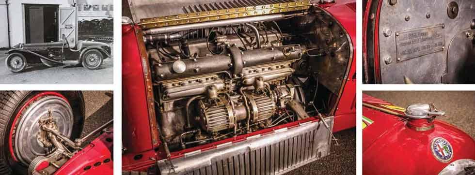1932 Alfa-Romeo Tipo B / P3 Monoposto engine