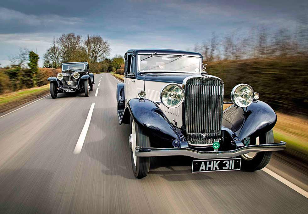 1931 Rolls-Royce Phantom II Continental Phantom II Continental and 1933 Singer Kaye Don Coupé - the long and the short of it Kaye Don Saloons