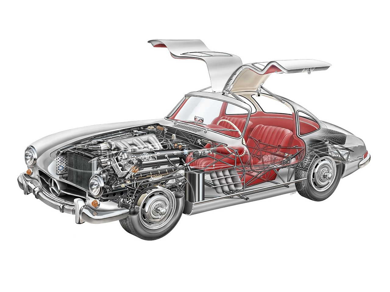 1954 Mercedes-Benz 300SL Gullwing W198