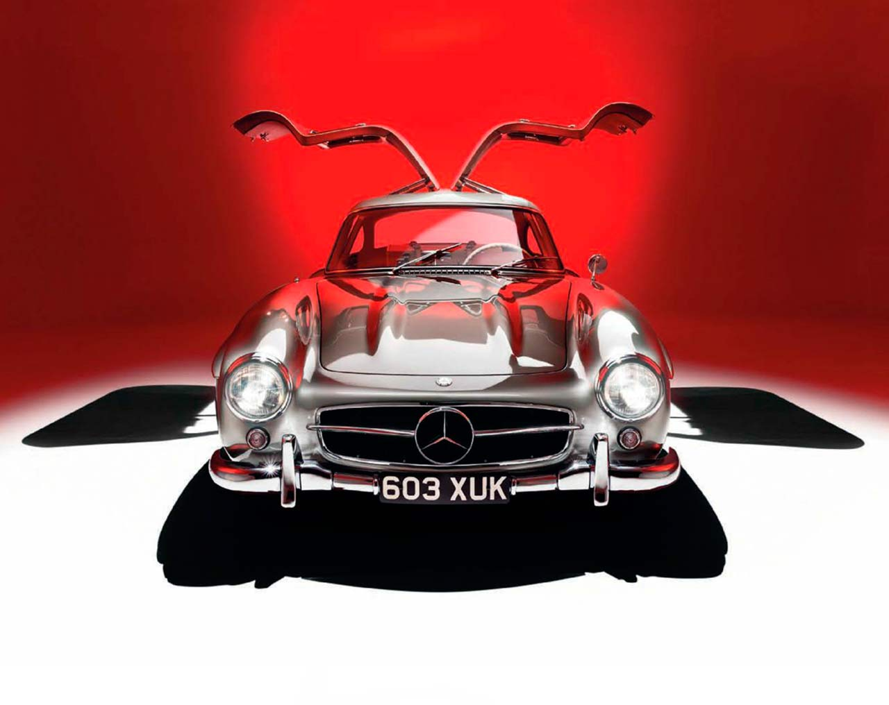 1954 Mercedes-Benz 300SL Gullwing W198 extraordinary '50s supercar was a technological marvel