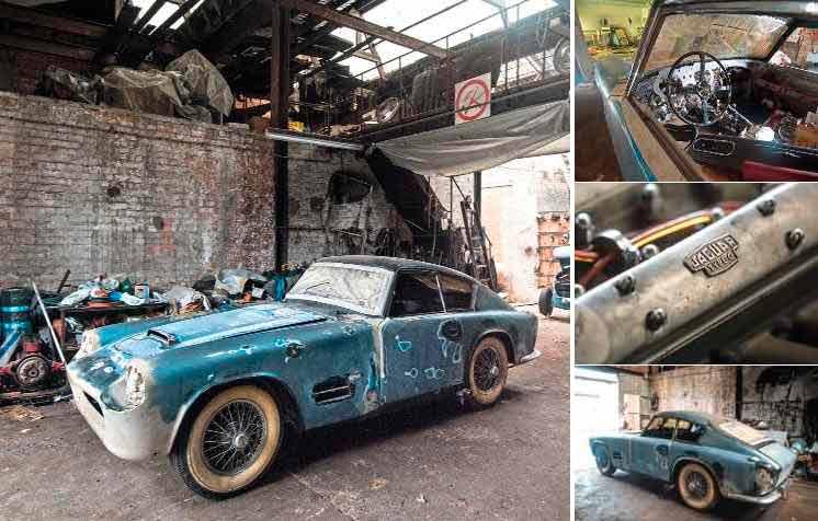 Belgian barnfind! Rare Michelotti 1955 Jaguar XK140