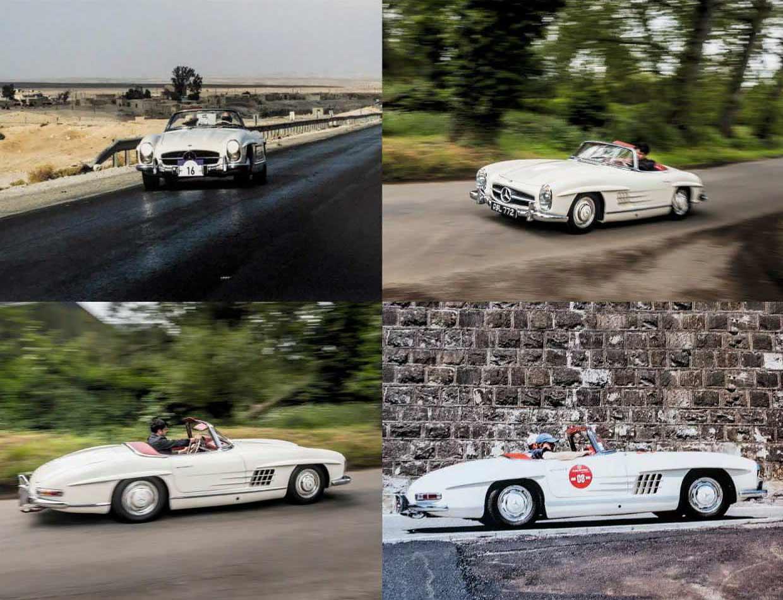 1958 Mercedes-Benz 300SL Roadster W198 II - road test