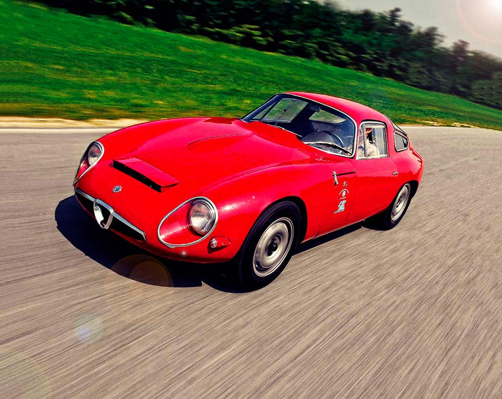 1963 Alfa Romeo Giulia TZ road test
