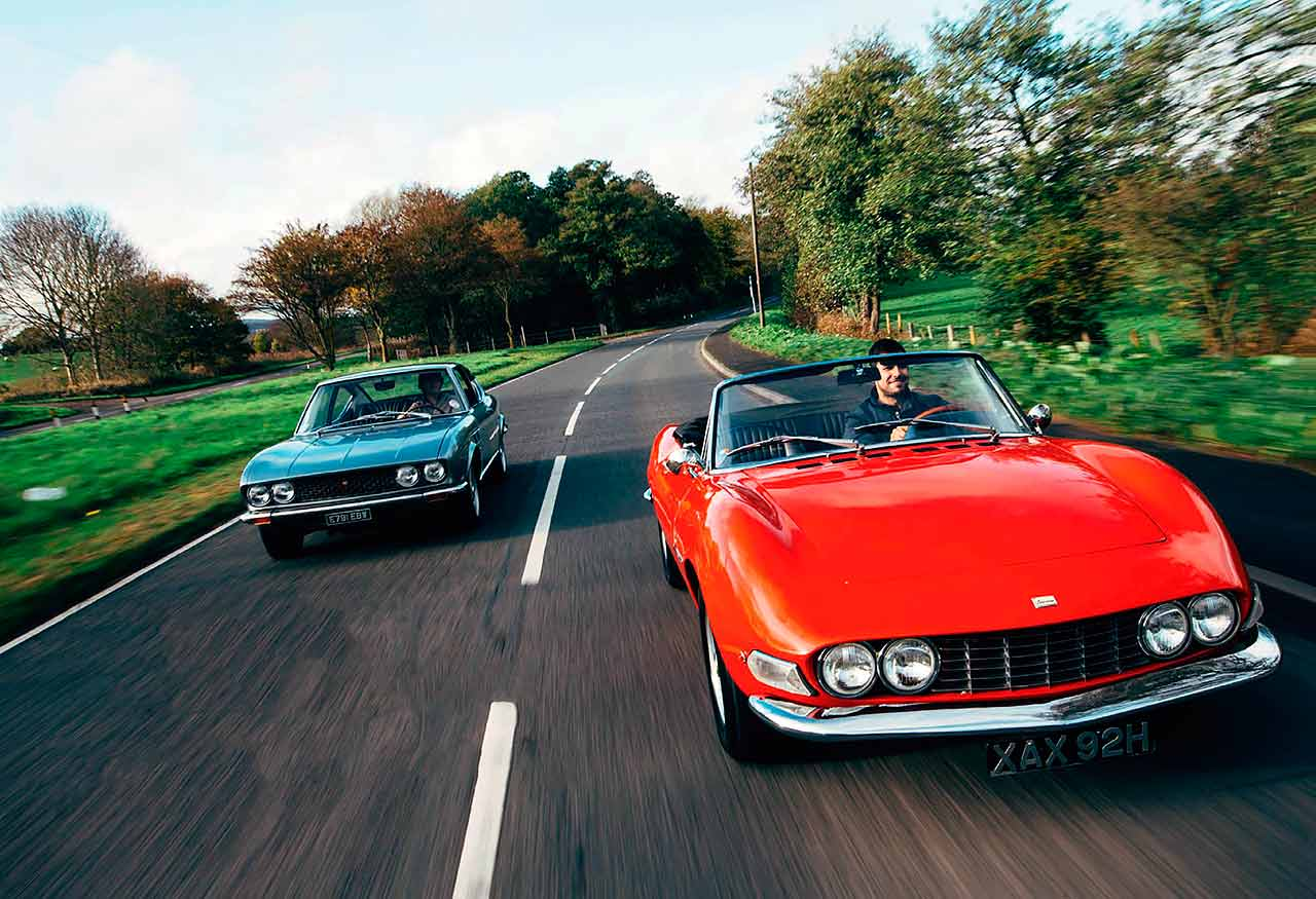 The Dino from Turin 1967 Fiat Dino Spider 2000 and 1967 Fiat Dino Coupé 2000
