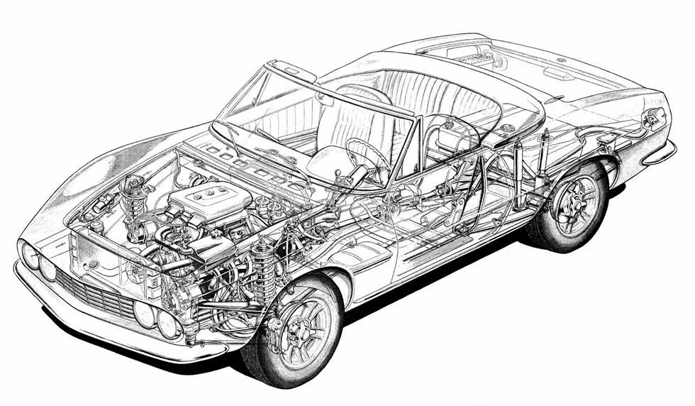 FIAT Dino Cutaways