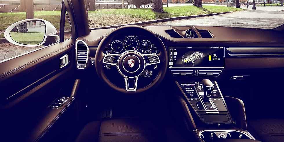 2019 Porsche Cayenne E-Hybrid SportDesign Package PO536 interior