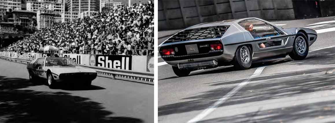 The sensational Lamborghini Marzal prototype has returned to Monte Carlo