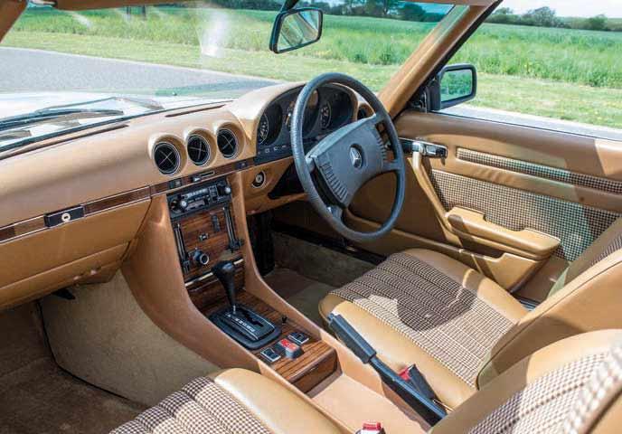 1979 Mercedes-Benz 350SL R107