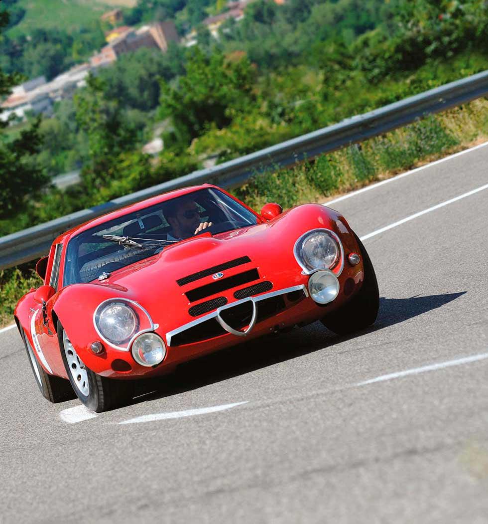 Alfa Romeo TZ2 road test