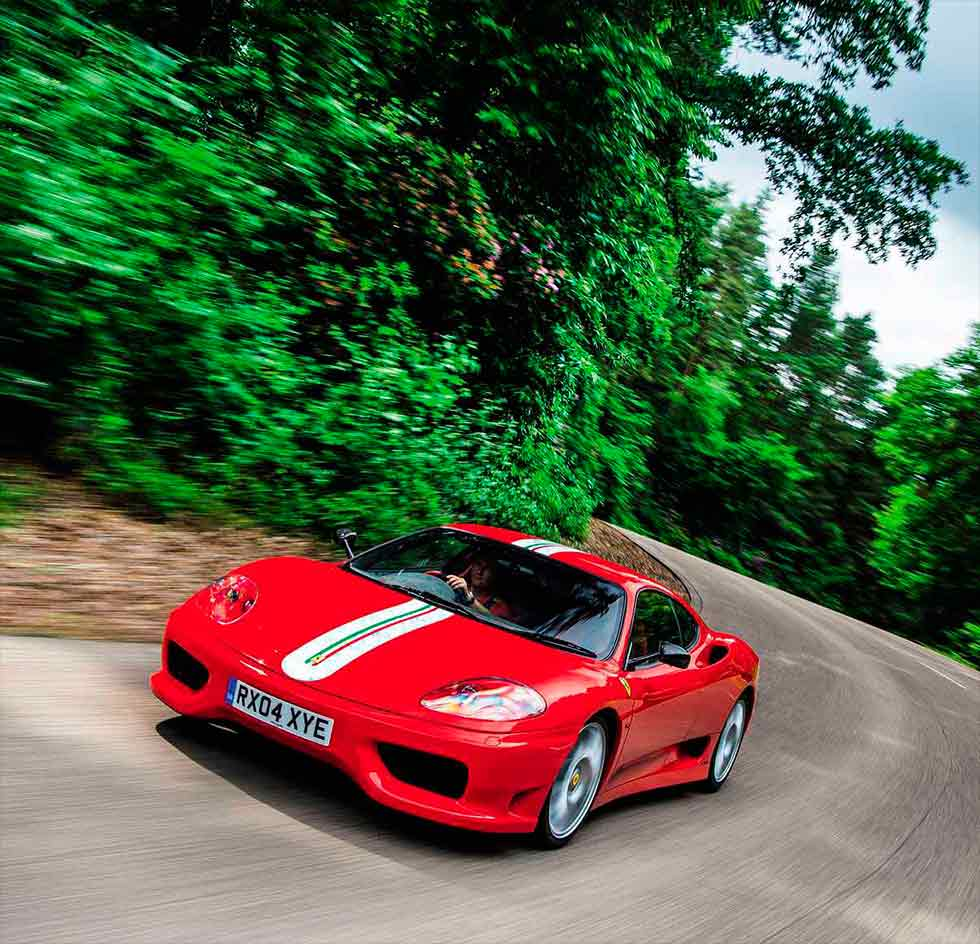 2003 Ferrari 360 Challenge Stradale road test