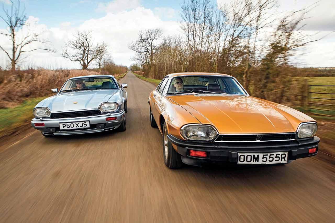 1975 Jaguar XJ-S 5.4 V12 vs. 1996 XJS 6.0-litre V12