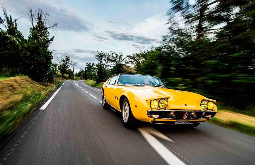 Factory-modded 1970 Maserati Ghibli SSS