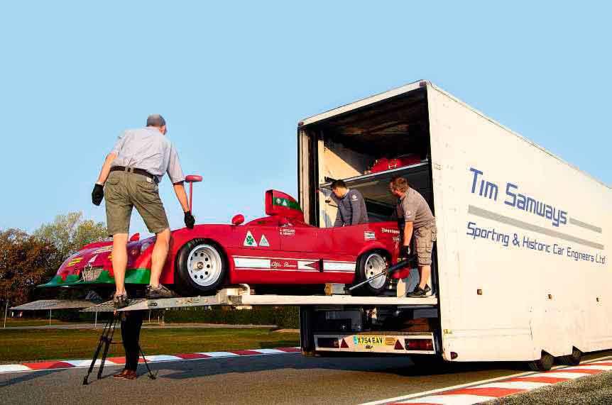 1974 Alfa Romeo Tipo 33/TT12 - road and track test